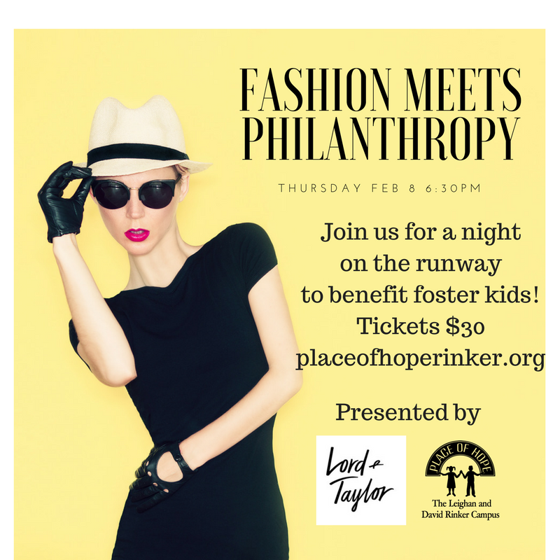 Fashion Meets Philanthropy